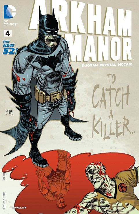 Arkham Manor #001-004 Free Download