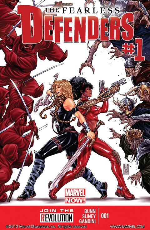 Fearless Defenders #1 – 12 (2013)