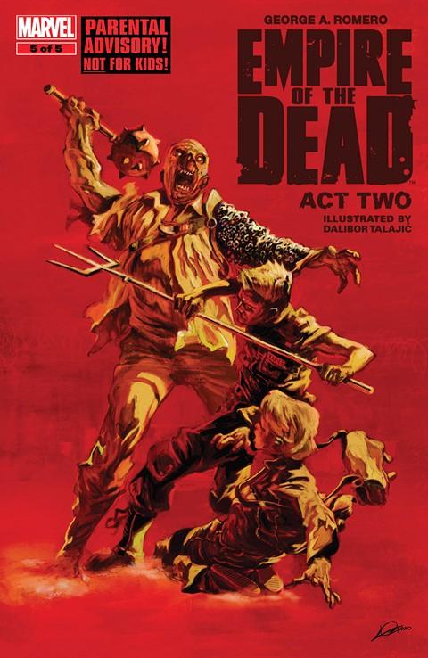 George Romero's Empire Of The Dead 1-3 – comics