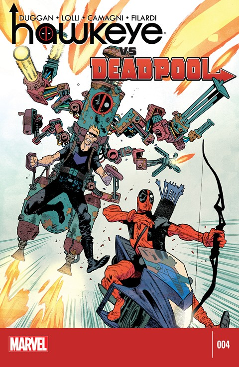 Hawkeye vs. Deadpool #04 Free Download