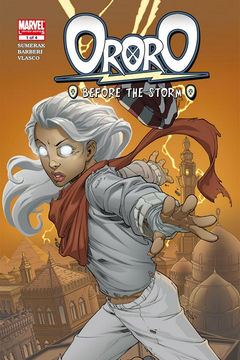 Ororo – Before the Storm #001 – 004 Free Download
