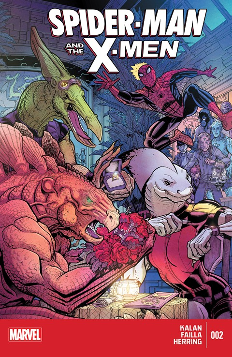 Spider-Man And The X-Men #1-2 Free Download
