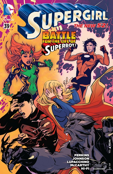 Supergirl #39 Free Download