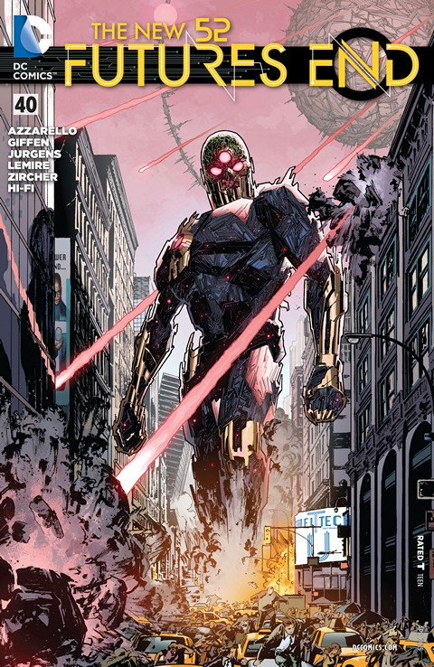 The New 52 – Futures End #40 Free Download
