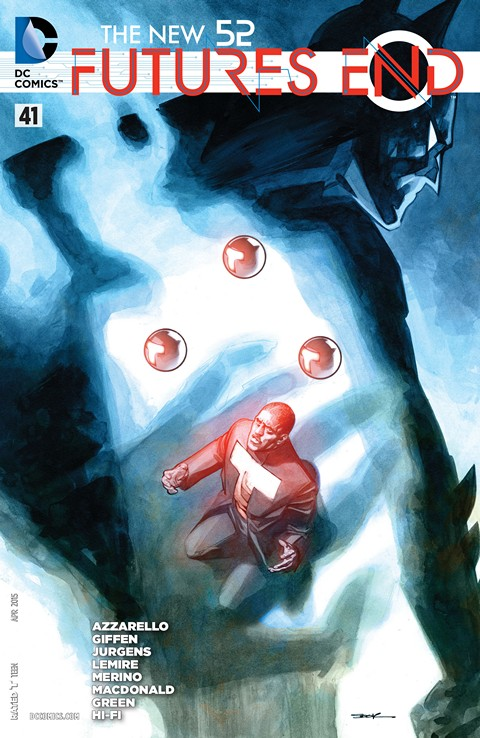 The New 52 – Futures End #41 Free Download