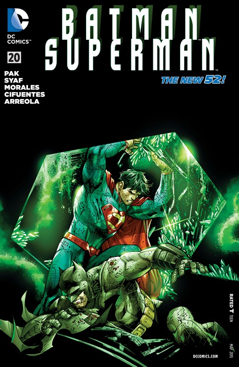 Batman – Superman #20 Free Download