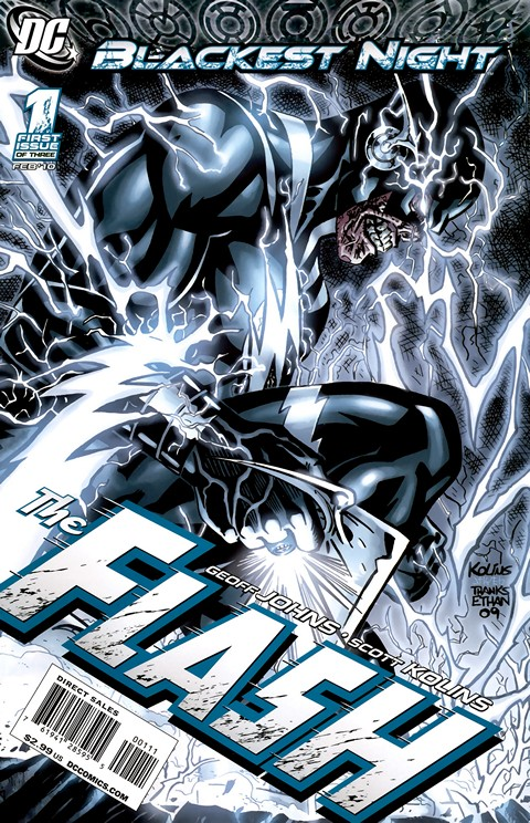 Blackest Night : The FLASH #1 – 3 Free Download