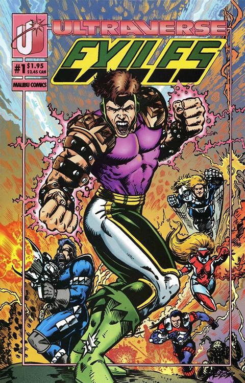 Exiles #1 – 4 (1993)