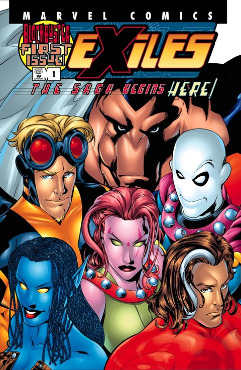 Exiles Vol. 1 #1 – 100 (2001-2008)