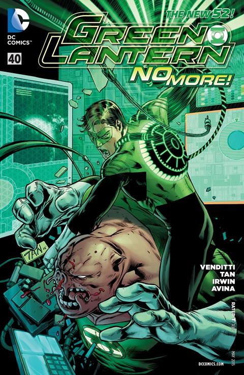 Green Lantern #40 Free Download