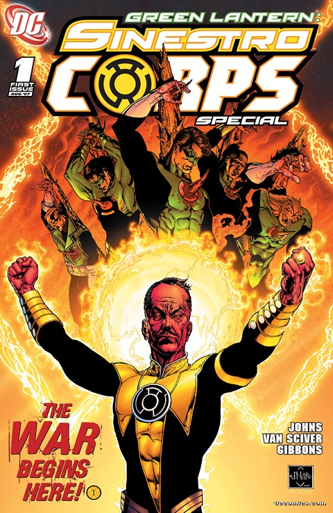 Green Lantern Sinestro Corps Special #1 Free Download