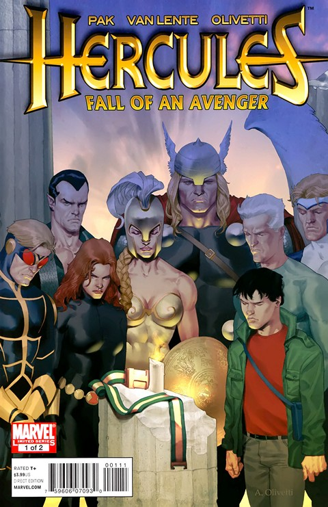 Hercules – Fall of an Avenger #1 – 2 Free Download