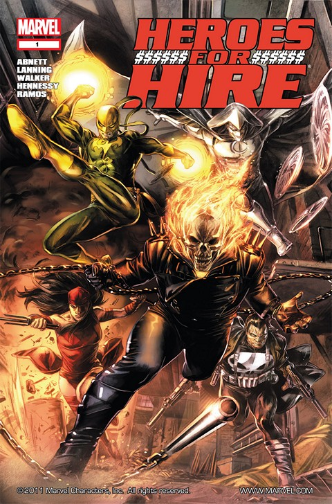 Heroes for Hire #1 – 12 (2011)