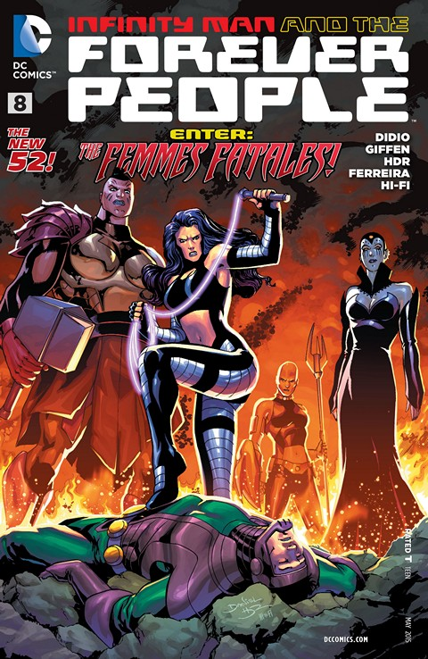 Infinity Man and the Forever People #8 Free Download