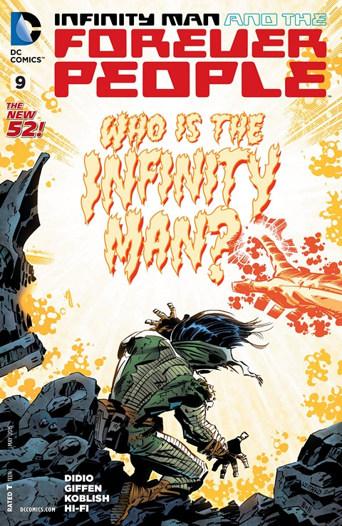Infinity Man and the Forever People #9 Free Download