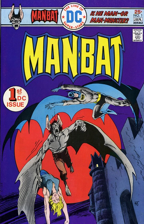 Man-Bat #1 – 2 Free Download
