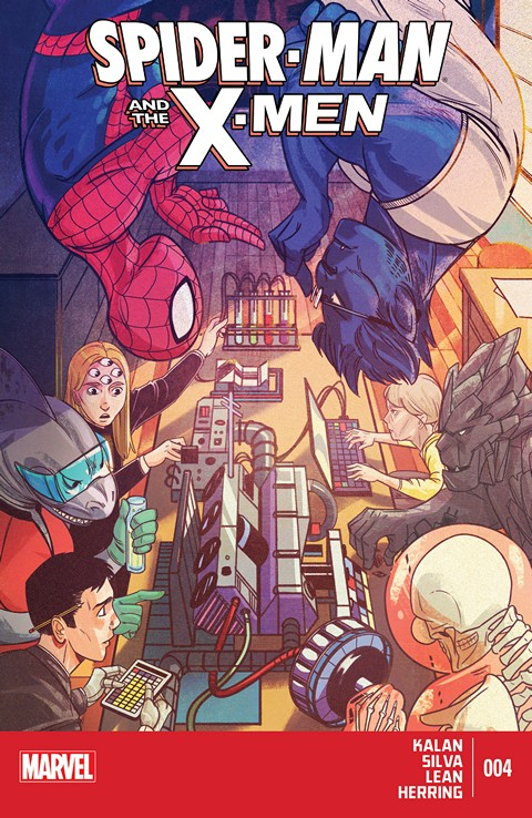Spider-Man & The X-Men #4 Free Download