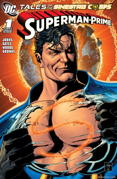 Tales of the Sinestro Corps – Superman Prime #1 (2007)
