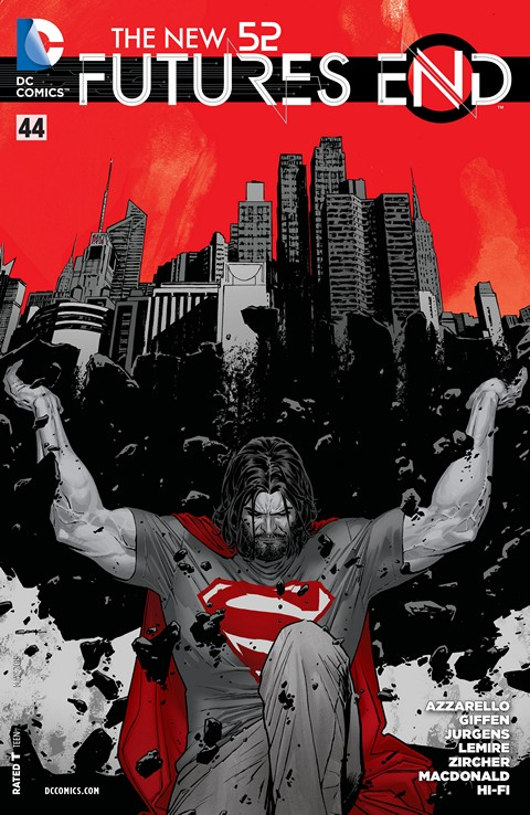 The New 52 – Futures End #44 Free Download