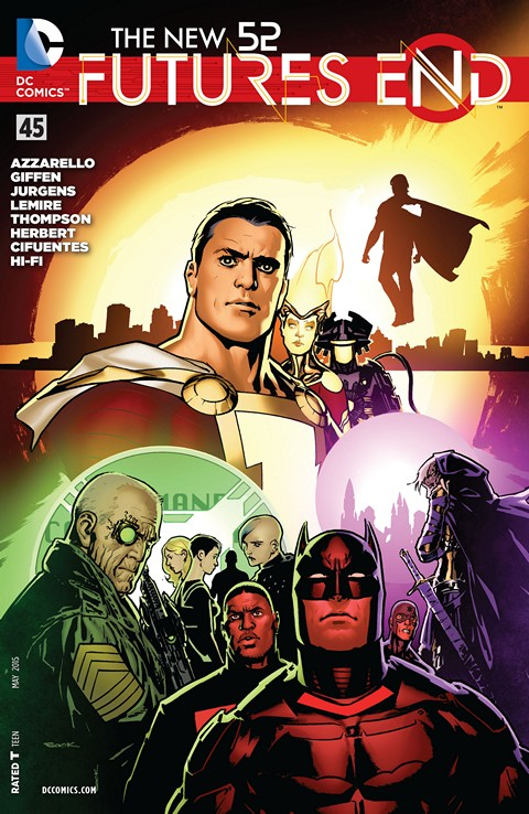 The New 52 – Futures End #45 Free Download