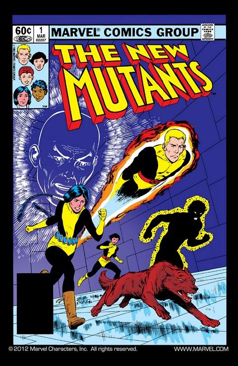 The New Mutants Vol. 1 #1 – 63 + Extras (1983-1988)
