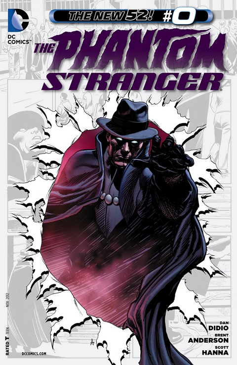 The Phantom Stranger #0 – 22 Free Download