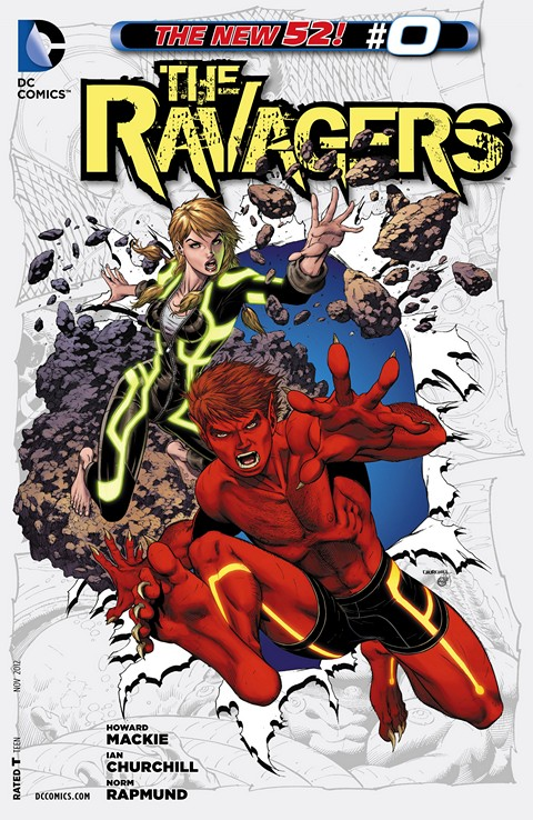 The Ravagers #0 – 12 Free Download