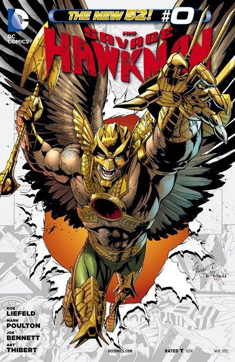 The Savage Hawkman #0 – 20 Free Download
