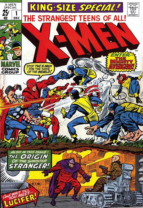 Uncanny X-Men Vol. 1 Annuals (1970-2001)