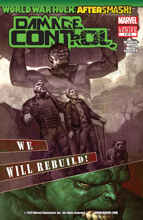 World War Hulk Aftersmash – Damage Control #1 – 3 Free Download