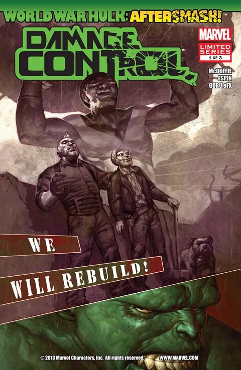 World War Hulk Aftersmash – Damage Control #1 – 3 Free Download