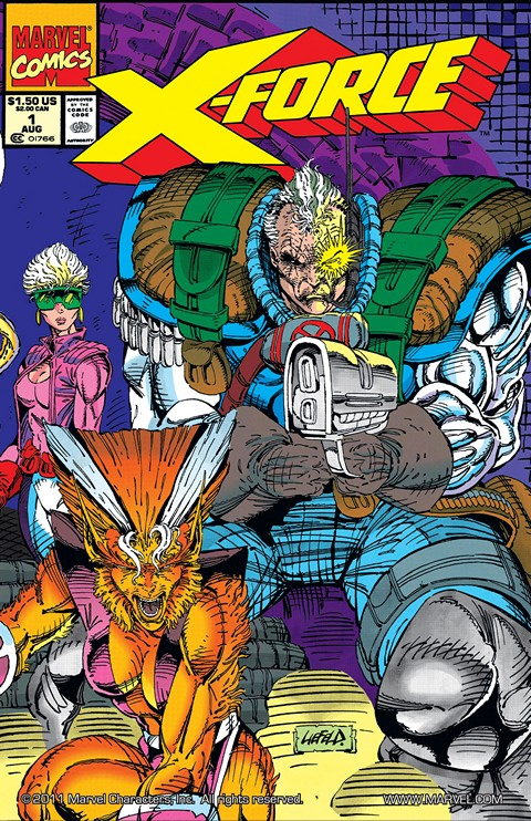 X-Force v1 #1 – 129 + Annuals & X-Statix Free Download