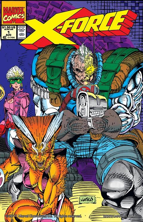 X-Force Vol. 1 #1 – 129 + Annuals & X-Statix (1991-2002)
