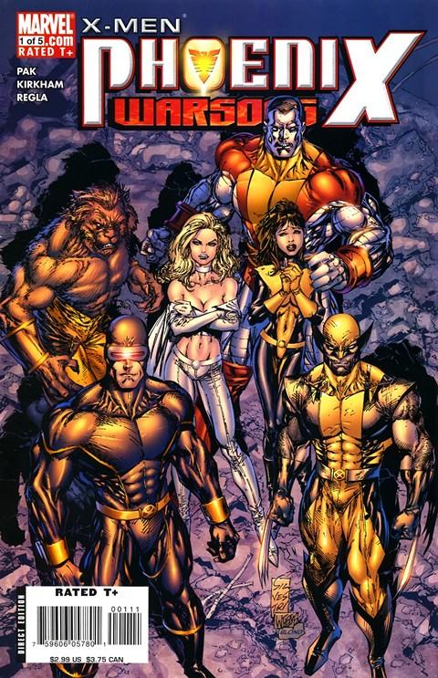X-Men – Phoenix – Warsong #1 – 5 + TPB (2006-2007)
