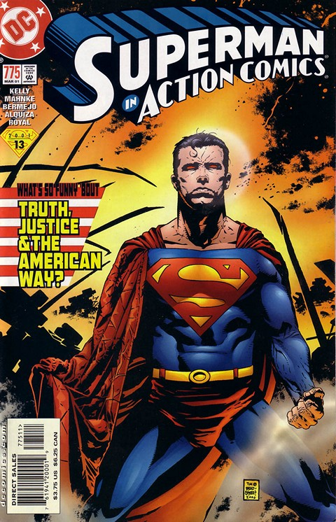Action Comics #775 – What's So Funny About Truth Justice and the American Way