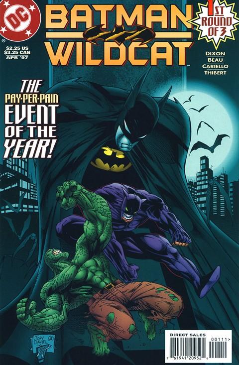 Batman & Wildcat #1 – 3