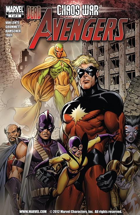 Chaos War – Dead Avengers #1 – 3