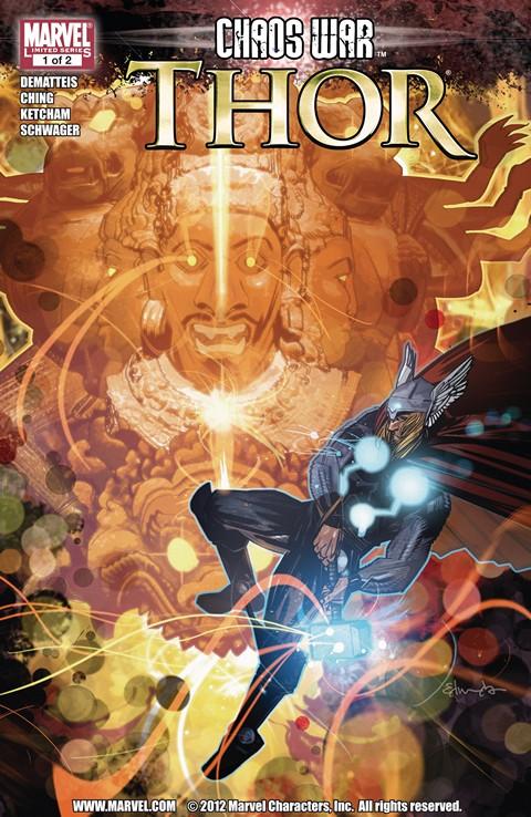 Chaos War – Thor #1 – 2