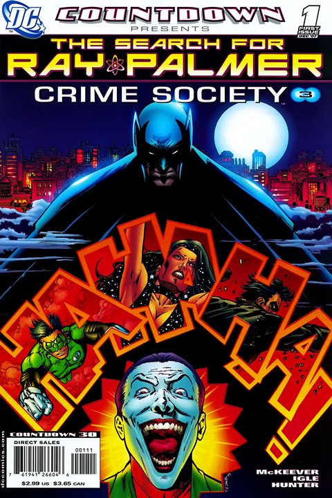Countdown Presents – The Search For Ray Palmer #1 – 6 (2007-2008)