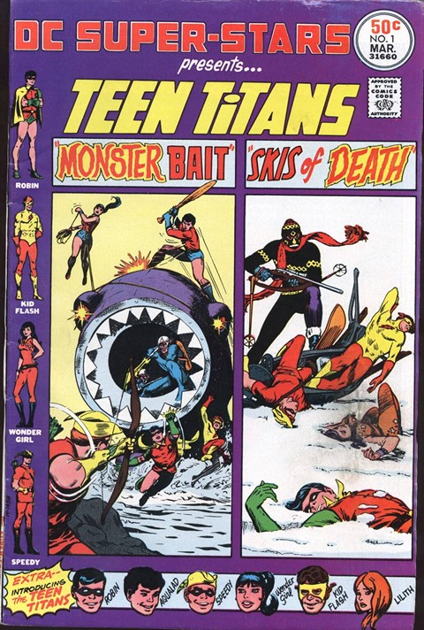 DC Super-Stars #1 – 18