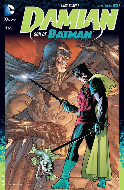 Damian – Son of Batman #1 – 4 Free Download
