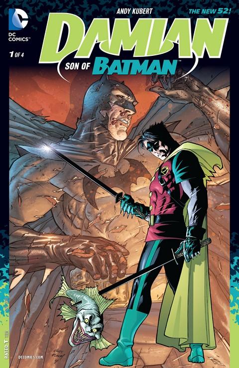 Damian – Son of Batman #1 – 4 Free Download