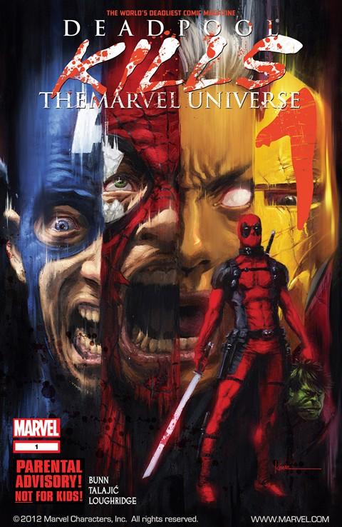 Deadpool Kills the Marvel Universe #1 – 4 (2012)