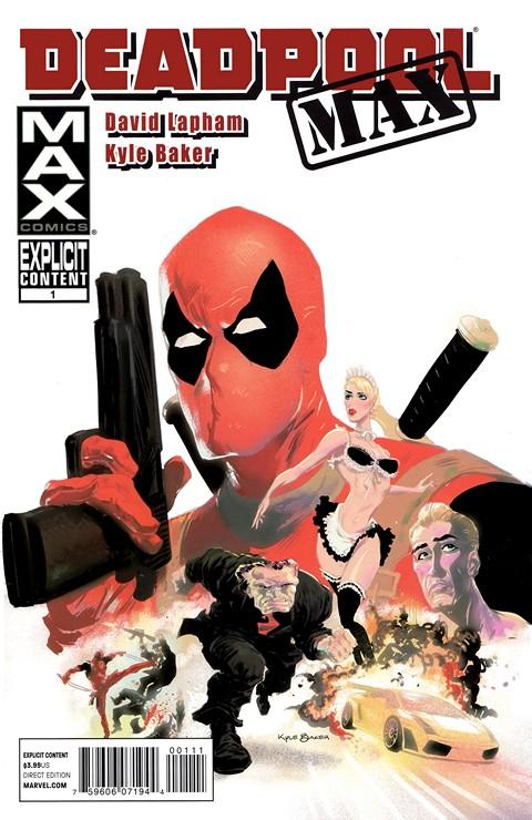 Deadpool – MAX Vol. 1 #1 – 12 + TPB Vol. 1 – 2 (2010-2012)