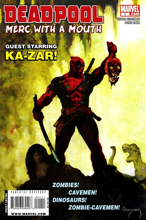 Deadpool – Merc With a Mouth #1 – 13