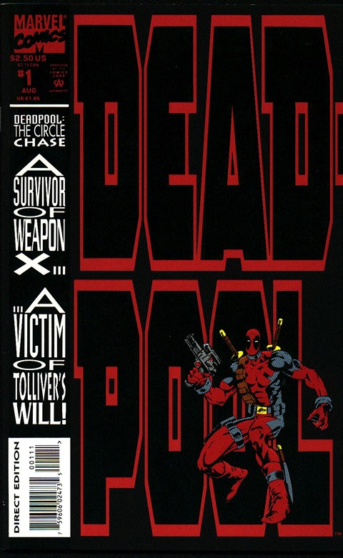 Deadpool – The Circle Chase #1 – 4 (1993-1994)