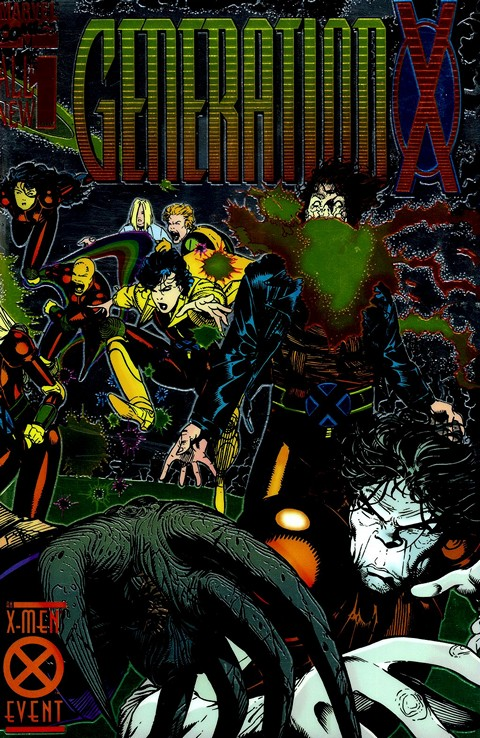 Generation X #1 – 75 + Annuals + Extras Free Download