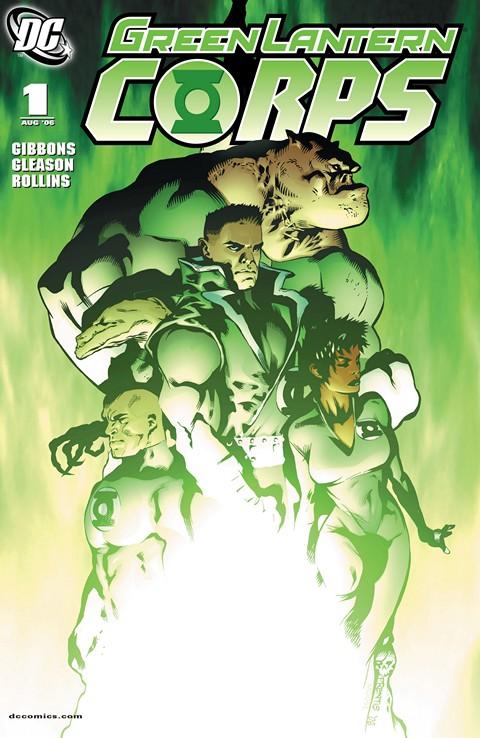 Green Lantern Corps Vol. 2 #1 – 63 + TPBs (2006-2012)
