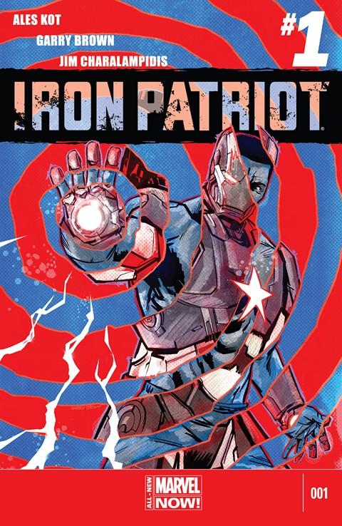 Iron Patriot #1 – 5 (2014)