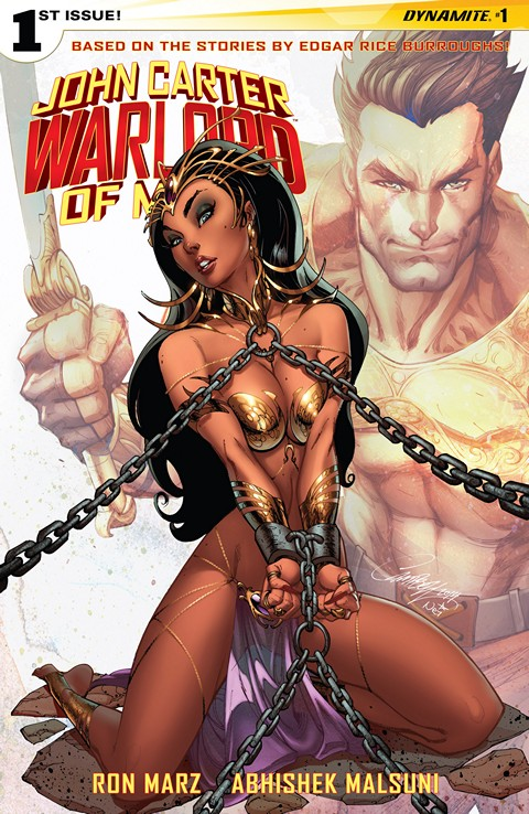 John Carter Warlord Of Mars Vol 2 #1 – 5